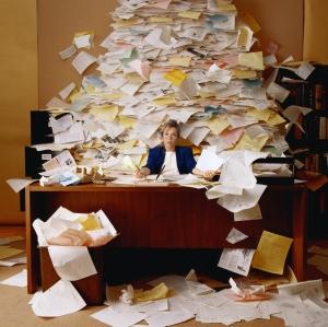 Messy Desk | Organization